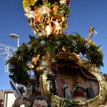 Candelora of the Rinoti in San Giuseppe la Rena before the Saint Agatha festival in Catania.
