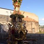 Candelora of the Rinoti in San Giuseppe la Rena before the Saint Agatha festival in Catania.