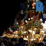 Candeloras during the saint Agatha festival in Catania on the 12th February