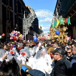 February the 3rd - joy and dancing during the Saint Agatha festival i Catania.