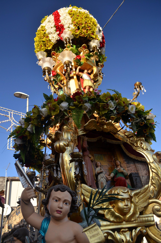 La candelora dei Rinoti a San Giuseppe La Rena
