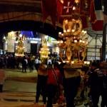 11° La candelora del Villaggio di Sant'Agata durante la festa di Sant'Agata a Catania