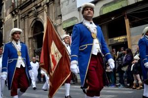 Processione in onore di Sant'Agata il 3 febbraio