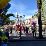 Piazza Stesicoro pronta per la festa di Sant'Agata il giorno 3 febbraio. Catania