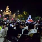 La festa di sant'Agata al Fortino (piazza Palestro) la notte fra 4 e 5 febbraio