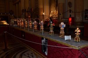 Mostra sulla Festa di Sant'Agata a San Placido, dove si possono ammirare delle candelore in miniatura